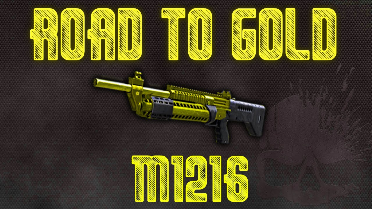 BO2: Road To Gold - (M1216) - YouTube M1216 Gold