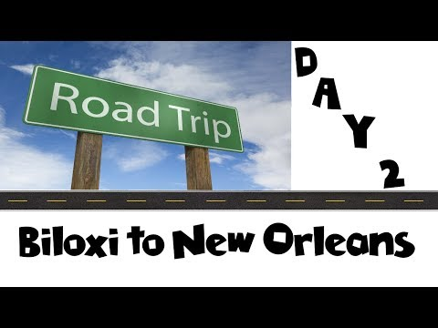 On the Road Again! Driving from Biloxi to New Orleans | Land & Sea Vacation Vlog Day 2 [ep3]