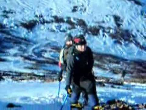 Will4Adventure team climbing Jebel Toubkal Dec 06