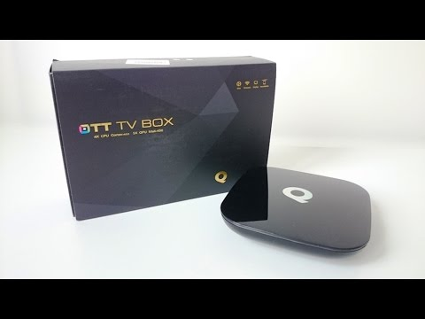 Q-BOX TV Box powered by Amlogic S905 Unboxing (Video)