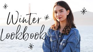 WINTER TRENDS LOOKBOOK - faux fur, dark florals, leopard print!