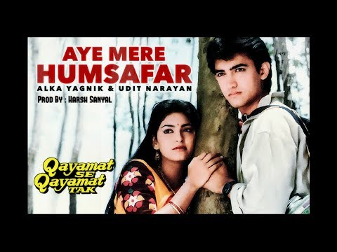 Aye Mere Humsafar - Instrumental Cover Mix (Udit Narayan, Alka Yagnik)  | Harsh Sanyal |