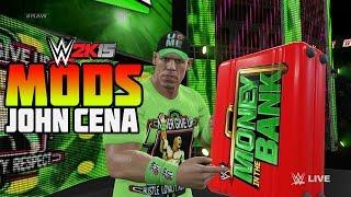 WWE 2K15 PC Mods : John Cena Hidden Money in the Bank Briefcase RAW 1000 Entrance!