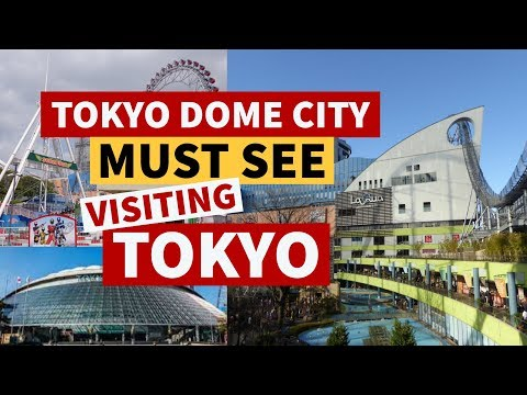 TOKYO DOME CITY - A must see when visiting Tokyo { La Qua, restaurants and The HUB}