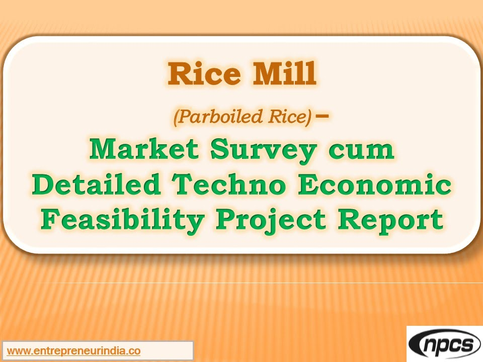 Rice mill project report Homework Academic Service