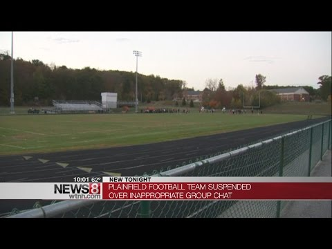 Plainfield High School Football team suspended over inappropriate group chat