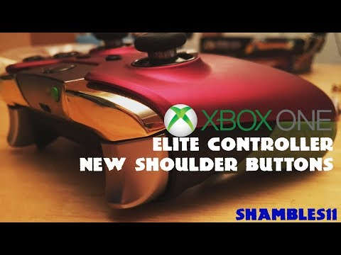 How to: Replace Xbox Elite Controller Shoulder Buttons