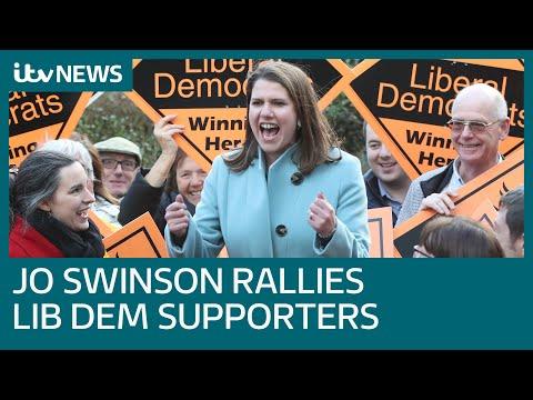 Campaign Live: Jo Swinson Speaks At Lib Dem Rally In Sheffield | ITV News