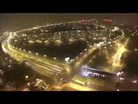 Poznan-Rataje Chartowo Rusa widok z lotu ptaka dron