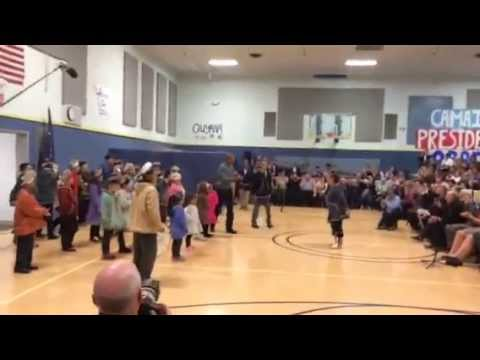 Obama dances in Dillingham