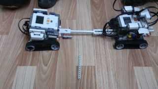LEGO MINDSTORMS NXT 2.0 Перетягивание каната