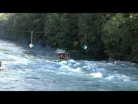 Steam Launches in Linth Rapids