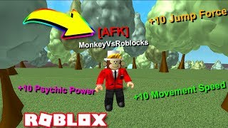*NEW* AFK Training Mode in Roblox Super Power Training Simulator!!
