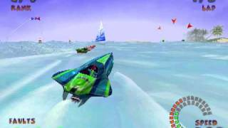 (2001) Jetboat Superchamps 2 - Gameplay - PC