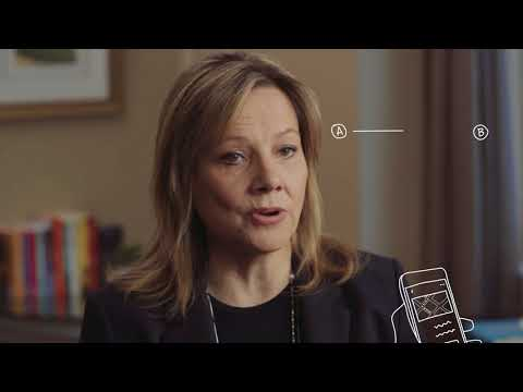 GM CEO Mary Barra Skimms Self-driving Cars