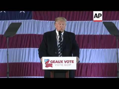 Trump Urges Voters to Elect Louisiana Republican