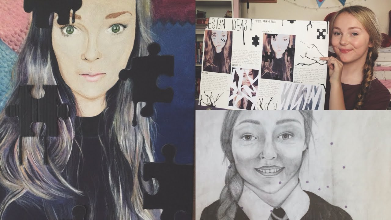 What are you opinions on this GCSE Art Coursework? (With Photos)?