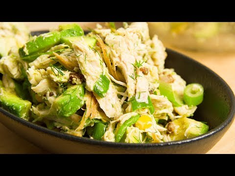 Avocado Chicken Salad Recipe Made By Goutez