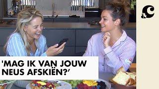 Miljuschka Witzenhausen geeft Chantal Janzen een grofgebekt interview