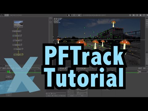 PFTrack Tutorial - 3d Camera Tracking