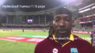 chris gayle marathi dubbed comedy video