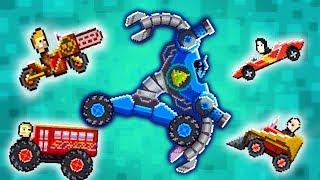 БЬЮ РАЗРАБОТЧИКОВ! Безумные ЛЕТНИЕ ЗАДАНИЯ Мульт игра для детей Битва ТАЧЕК Drive AHEAD