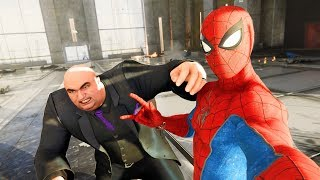 Spider-Man PS4 Crazy Action Selfies with King Pin