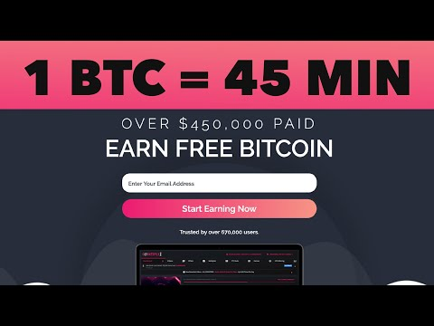 Mine 1 Bitcoin in 45 minutes - Free Bitcoin Mining Website 2021 | Payment Proof