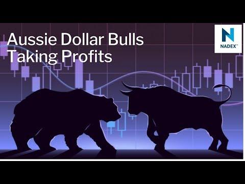 Aussie Dollar Bulls Taking Profits
