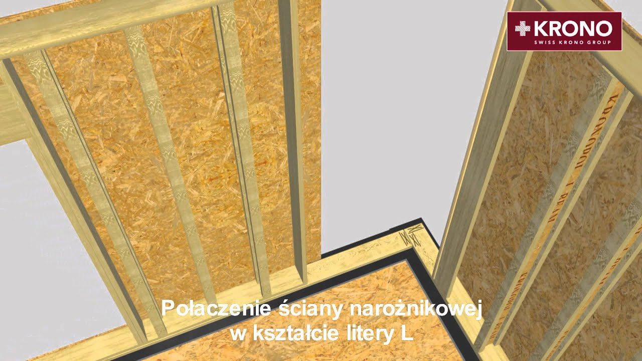 Instrukcja Montażu ścian Z Płyt Kronopol Osb 3