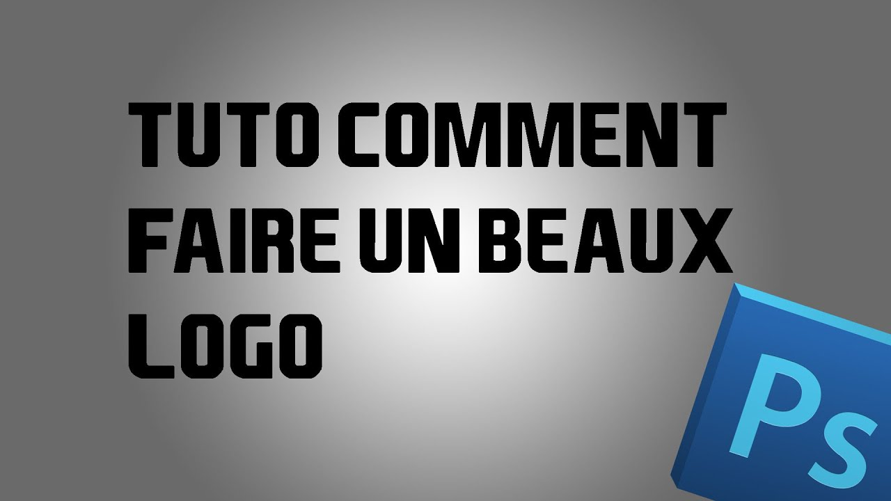 tuto comment faire un beaux logo youtube. Black Bedroom Furniture Sets. Home Design Ideas