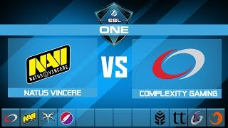 NaVi vs compLexity Gaming | ESL One Mumbai 2019