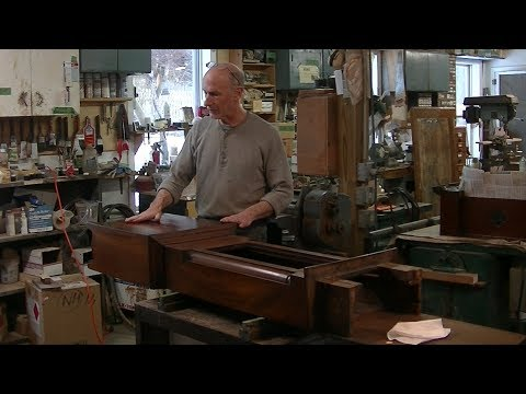 Restoring an Antique Scottish Tall Case Clock - Thomas Johnson Antique Furniture Restoration