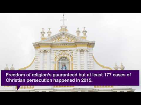 In a Minute... Christianity in India