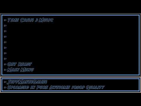 Time Crisis 3 Music - Get Ready - Main Menu [1080p HD]
