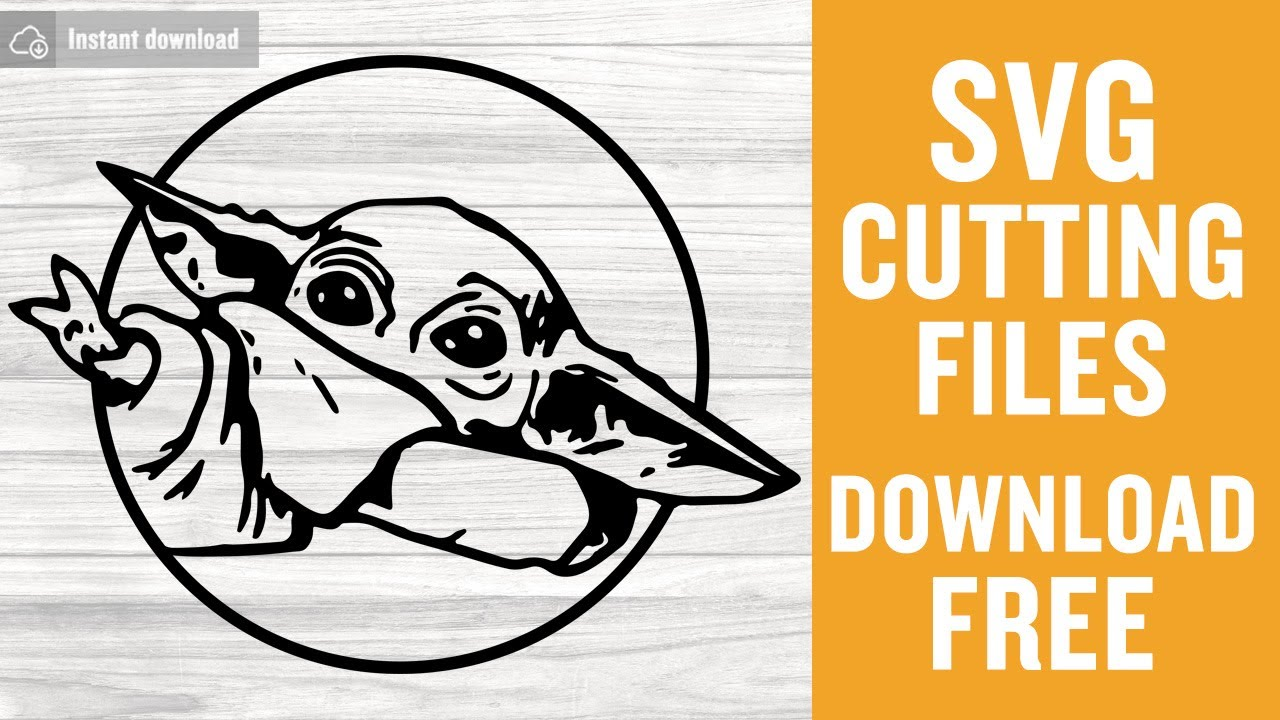 Download Baby Yoda Svg Free Cutting Files for Cricut Silhouette ...