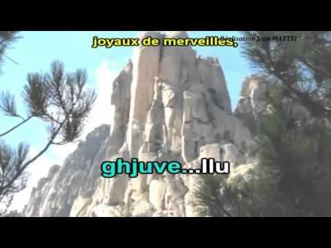 PETRU GUELFUCCI - CORSICA . Karaoké instrumental .(Corse).