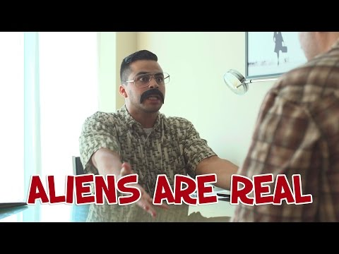 Aliens are Real - David Lopez