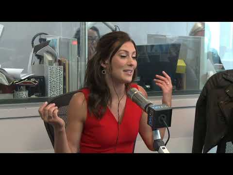 Tanya Tries To Trick Engagement Details Out Of Bachelorette Becca  | On Air with Ryan Seacrest