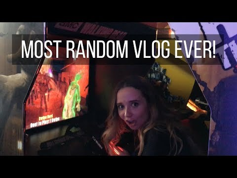 MOST RANDOM VLOG EVER | Ali Brustofski Vlog