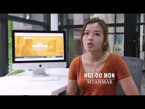 Graphic Design Course Testimonial - Web Courses Bangkok