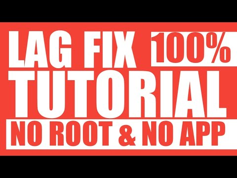 FIX ANDROID LAG WITHOUT ROOT / APP ( BEST FOR GAMING ONLINE & OFFLINE)