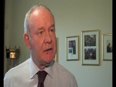 McGuinness welcomes Foster as Joint First Minister