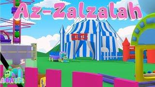 Murottal Juz Amma AZ-ZALZALAH-Animation, 3D-Buchstaben Lernen Arabisch-Alphabet | Abata