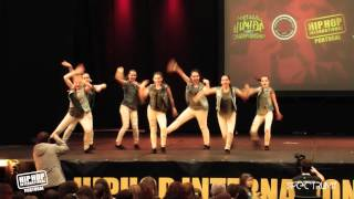 GM Rookies | 15º Lugar Divisão Varsity @ Hip Hop International Portugal 2015 | Finais