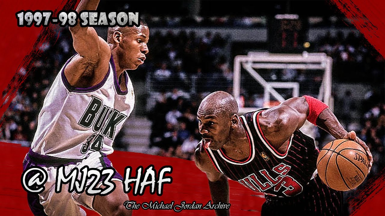 Michael Jordan vs Ray Allen Highlights Bulls vs Bucks (1998.01.16) - Ray  Gun raining 3s! - YouTube 6140f6d3e