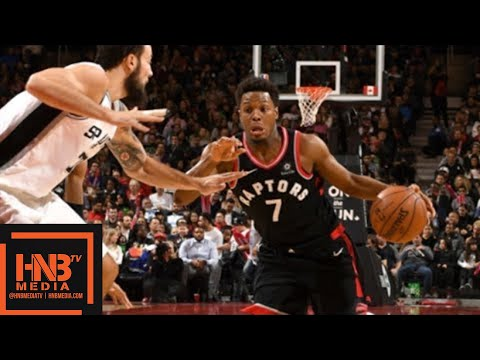 San Antonio Spurs vs Toronto Raptors Full Game Highlights / Jan 19 / 2017-18 NBA Season