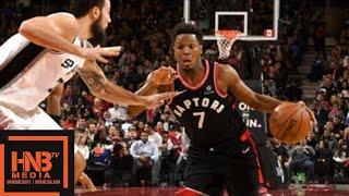 San Antonio Spurs vs Toronto Raptors Full Game Highlights / Jan 19 / 2017-18 NBA Season