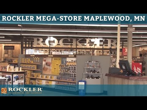 Rockler Mega-Store Tour in Maplewood, MN