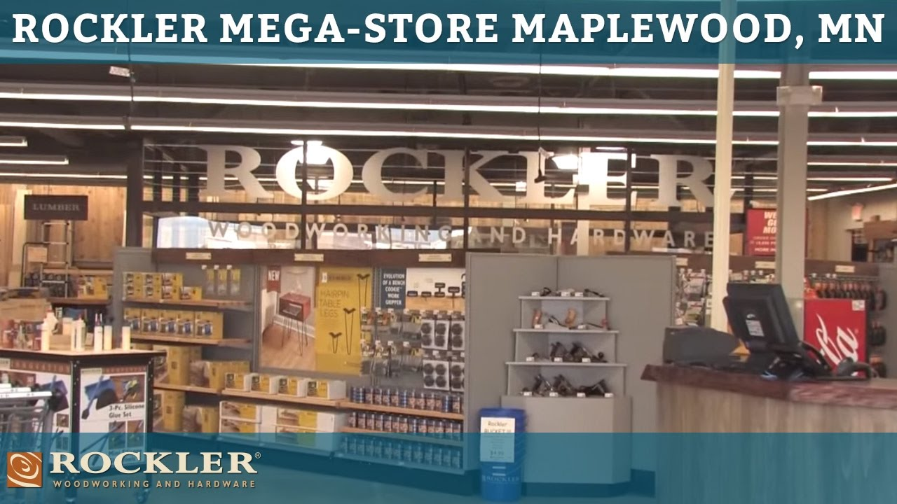 Rockler Mega Store Tour In Maplewood Mn